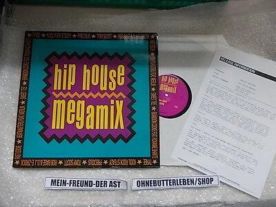 "LP VA Hip House Megamix 12"" (3 Song) + presskit BCM BRIAN CARTER MUSIC"