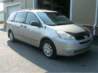2005 TOYOTA SIENNA AUTOMATIQUE 7 PLACES PROPRE