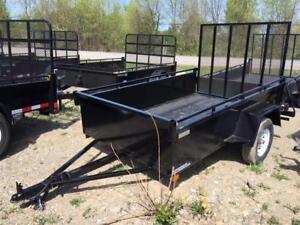 used utility trailer 5x10