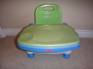 Fisher Price Booster Seat/Portable High Chair - $25