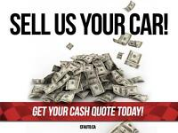 SELL US YOUR CAR! Get your cash quote today!