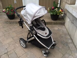 REDUCED!! High Quality Britax B Ready Stroller with Bassinette!!