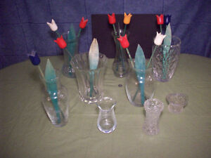 9- Vases pour fleurs