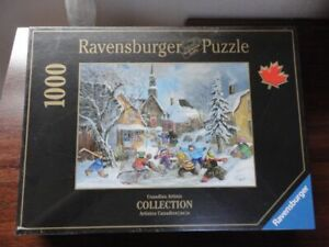1000 RAVENSBURGER PUZZLE ATTENTION C'EST UN LANCER DE PUNITION