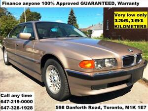 2000 BMW 7 Series 740iL FINANCE 100%APPROVED GUARANTEED WARRANTY