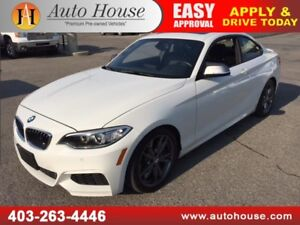 2014 BMW 235i M PACKAGE COUPE NAVIGATION BACKUP CAMERA