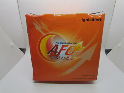 Afo Self-activating Fire Extinguisher Ball A-b-c-e Class 1.3kg Auto-ignition