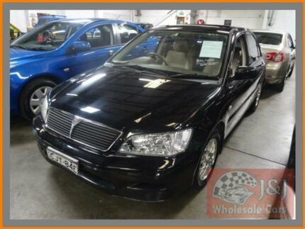 2003 Mitsubishi Lancer CH Exceed Black 4 Speed Automatic Sedan Warwick Farm Liverpool Area Preview