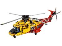 Lego set 9396 Technic helicopter from 2012 Boxed