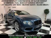 2013 63 Bentley Continental GT Coupe 4.0 V8 Auto 500BHP