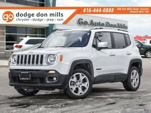 2018 Jeep Renegade Limited - 4x4 - leather - My sky sunroof - na