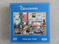 Gibsons 250 piece jigsaw puzzle - Catastrophe by Linda Jane Smith