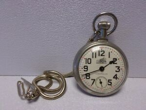 Vintage Pocket Watch WATCHES jewellery CLOCKS see ! +++