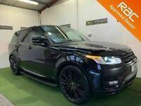 Late 2017 Land Rover Range Rover Sport 3.0 SDV6 HSE 306BHP **Finance & Warranty** (x5,q7)