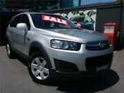 2013 Holden Captiva CG MY14 7 LS (FWD) Silver 6 Speed Automatic Wagon Greenacre Bankstown Area Preview