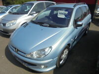 Peugeot 206 2.0 HDI 90 S AC (silver) 2003