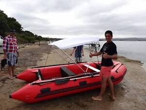 near new inflatable boat with aluminium floor Blackstone Heights Meander Valley Preview