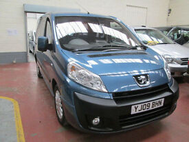 09 PEUGEOT EXPERT WHEELCHAIR ACCESSIBLE ADAPTED DISABLED