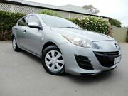 2011 Mazda 3 BL10F1 MY10 Neo Silver 6 Speed Manual Hatchback Glenelg East Holdfast Bay Preview