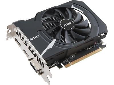 MSI Radeon RX 560 DirectX 12 RX 560 AERO ITX 4G OC 4GB 128-Bit GDDR5 PCI Express