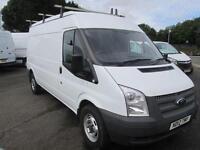 Ford Transit T 350 LWB Medium Roof Van Tdci 100Ps Euro 5 DIESEL MANUAL (2012)