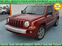 2008 Jeep Patriot Limited 4WD SUV is VERY SAFE FOR WINTER!