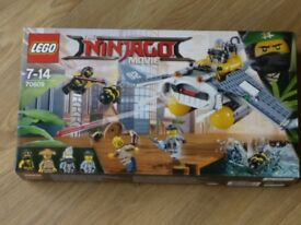 LEGO NINJAGO THE MOVIE SET 70609 MANTA RAY BNISB