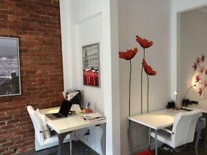 Charming character office space in Beltline for sublease