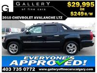 2010 Chevrolet Avalanche LTZ $249 bi-weekly APPLY NOW DRIVE NOW