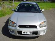 2003 Subaru Impreza RS 2.5 AWD MANUAL Old Reynella Morphett Vale Area Preview