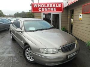 2000 Holden Statesman WH V6 Gold 4 Speed Automatic Sedan Edgeworth Lake Macquarie Area Preview
