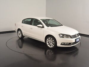 2011 Volkswagen Passat Type 3C MY11 125TDI DSG Highline White 6 Speed Sports Automatic Dual Clutch Welshpool Canning Area Preview