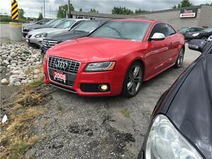2008 Audi S5 SPORT 6SPEED NAV LEATHER SUNROOF CERTIFIED E-TEST