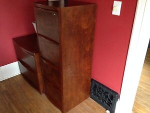 Deluxe Wood File Cabinet - 120 for both
