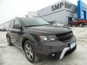 2016 Dodge Journey Crossroad FWD, Nav, leather, rem. start, sunr