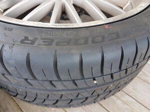 "BMW 19"" M5 mesh rims of my e39 540i $1100 obo"