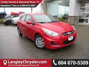 2016 Hyundai Accent GL <B>*ACCIDENT FREE*LOCAL*