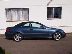 2004 Mercedes-Benz CLK320 A209 Avantgarde Blue Mica 5 Speed Automatic Cabriolet Petersham Marrickville Area Preview