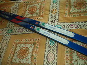 karhu solomon nortek cross country skis and poles