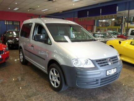 2010 Volkswagen Caddy 2K MY11 TDI250 Silver 7 Speed Automatic Van South Melbourne Port Phillip Preview