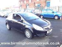 2010 (59 Reg) Vauxhall Corsa Life 1.3CDTi 16v (75PS) EcoFlex 3DR Hatchback BLACK