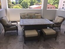 Discounted New 6-Piece Caribbean Outdoor Setting (seats 8) South Perth South Perth Area Preview