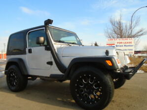 LIFTED-2003 Jeep TJ -4X4-HARD TOP CONVERTIBLE-4.0L i6--5 SPEED