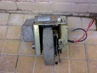 Amer 24V Worm Gear Wheel Motor Project