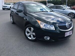 2013 Holden Cruze JH Series II MY13 Equipe Green 5 Speed Manual Hatchback Chinderah Tweed Heads Area Preview