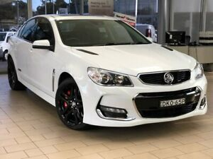 2016 Holden Commodore VF II MY16 SS V Redline White 6 Speed Sports Automatic Sedan Belconnen Belconnen Area Preview