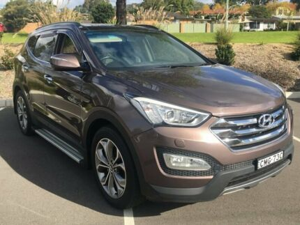 2013 Hyundai Santa Fe DM Highlander CRDi (4x4) Gold 6 Speed Automatic Wagon