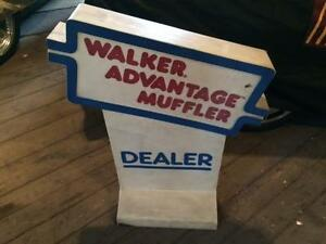 walker exhaust promo display