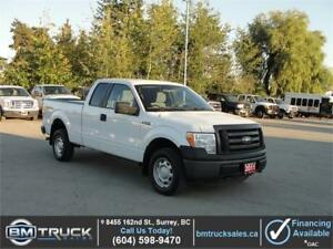 2011 FORD F-150 XL EXT SHORT BOX 4X4 **LOW LOW KM**