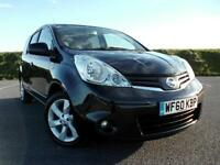 NISSAN NOTE 1.4 N-TEC 2010/60 TOP OF THE RANGE ! SAT-NAV, BLUETOOTH,AIR CON !